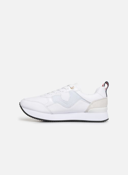 Sneakers Tommy Hilfiger TOMMY DRESS CITY SNEAKER Bianco immagine frontale