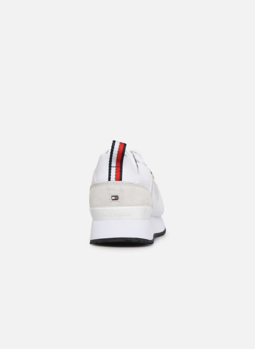 Deportivas Tommy Hilfiger TOMMY DRESS CITY SNEAKER Blanco vista lateral derecha