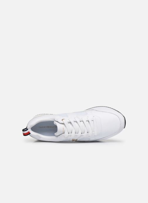 Deportivas Tommy Hilfiger TOMMY DRESS CITY SNEAKER Blanco vista lateral izquierda