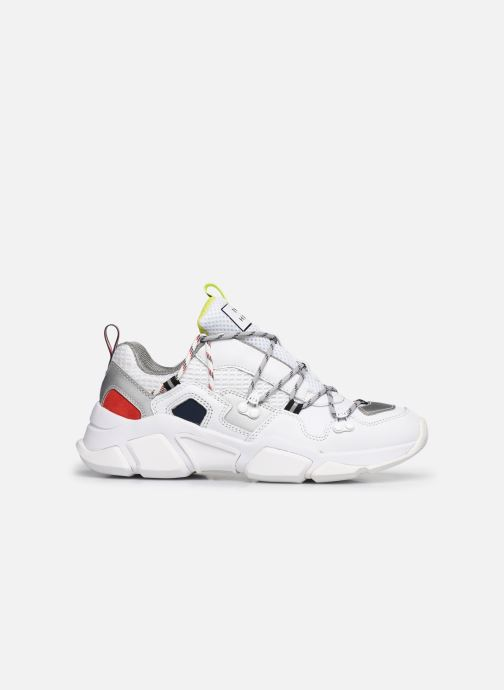 Sneakers Tommy Hilfiger CITY VOYAGER CHUNKY SNEAKER W Bianco immagine posteriore
