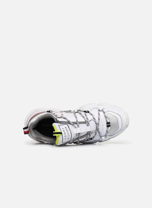 Sneakers Tommy Hilfiger CITY VOYAGER CHUNKY SNEAKER W Bianco immagine sinistra