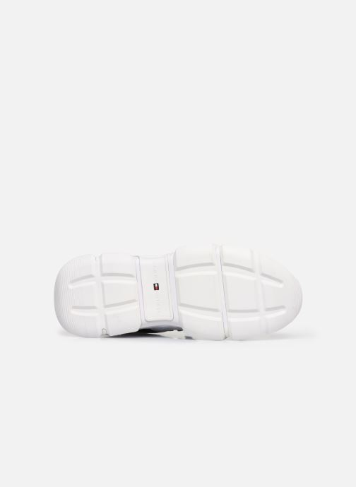 Sneakers Tommy Hilfiger CITY VOYAGER CHUNKY SNEAKER W Bianco immagine dall'alto