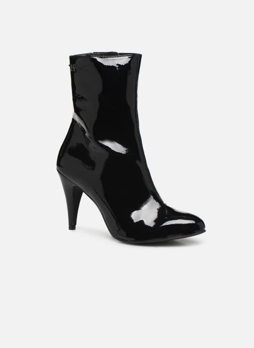 Bottines et boots Tommy Hilfiger ELEVATED PATENT BOOTIE Noir vue détail/paire