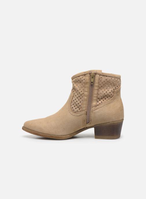 Bottines et boots I Love Shoes THALINA Beige vue face