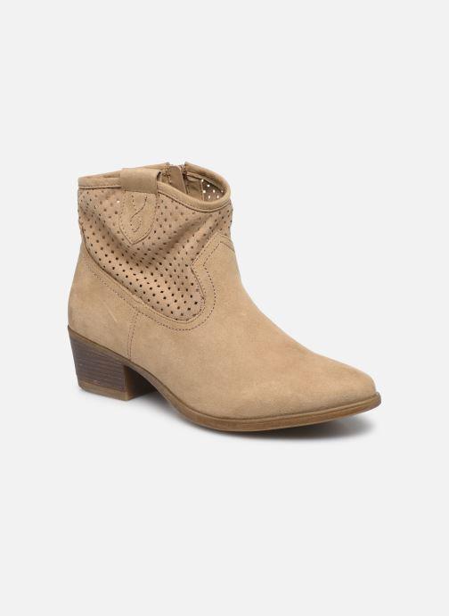 Bottines et boots I Love Shoes THALINA Beige vue détail/paire