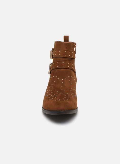 Botines  I Love Shoes THECLO Marrón vista del modelo