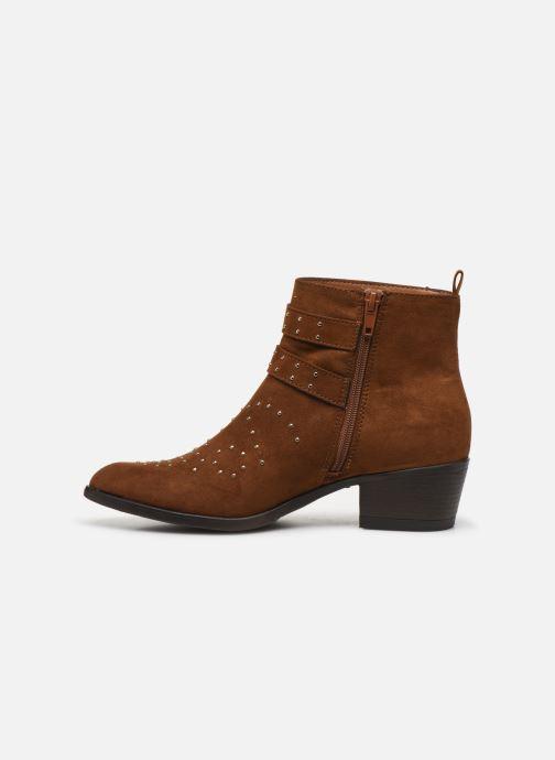 Botines  I Love Shoes THECLO Marrón vista de frente