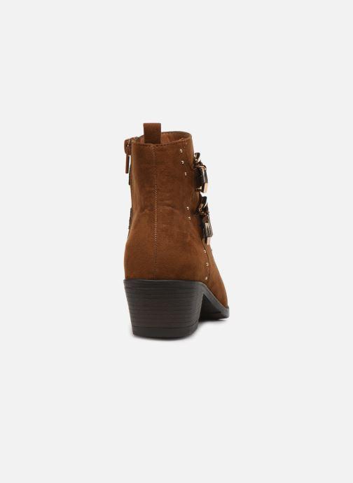 Botines  I Love Shoes THECLO Marrón vista lateral derecha