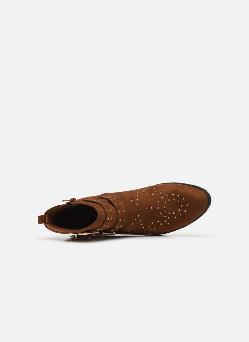 Botines  I Love Shoes THECLO Marrón vista lateral izquierda