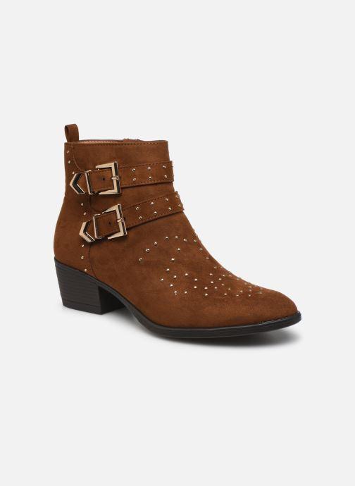Botines  I Love Shoes THECLO Marrón vista de detalle / par
