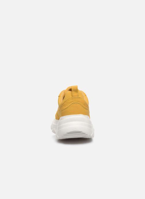 Deportivas I Love Shoes THOLEO Amarillo vista lateral derecha