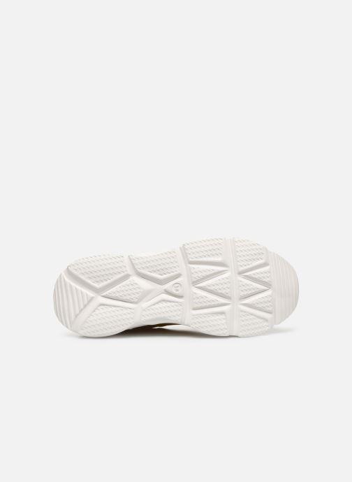 Baskets I Love Shoes THOLEO Jaune vue haut