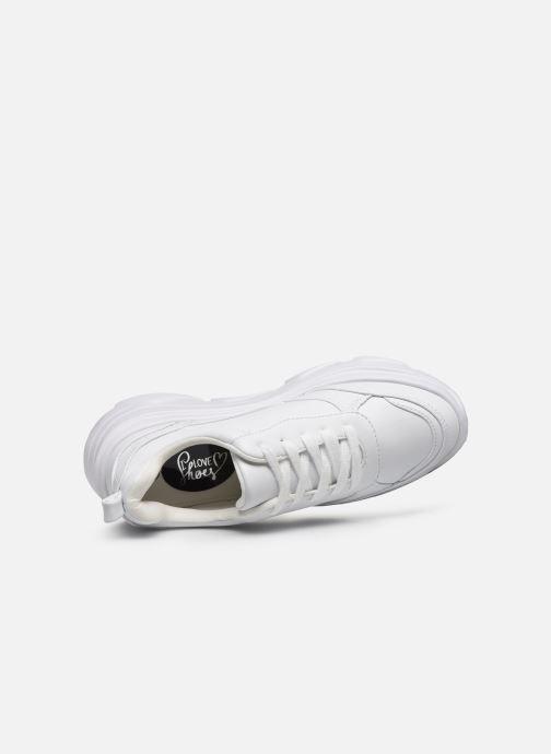 Deportivas I Love Shoes THOLEO Blanco vista lateral izquierda
