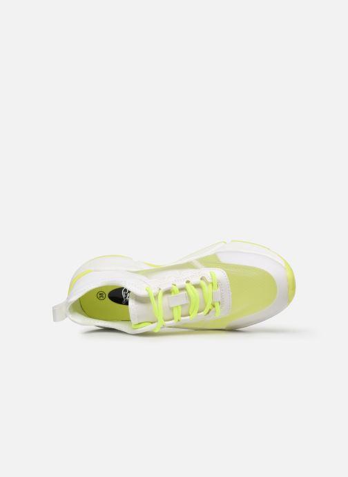 Deportivas I Love Shoes THOSSY Blanco vista lateral izquierda
