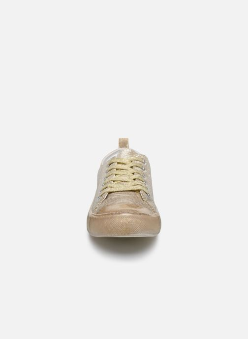 Sneakers I Love Shoes THABITA Oro e bronzo modello indossato