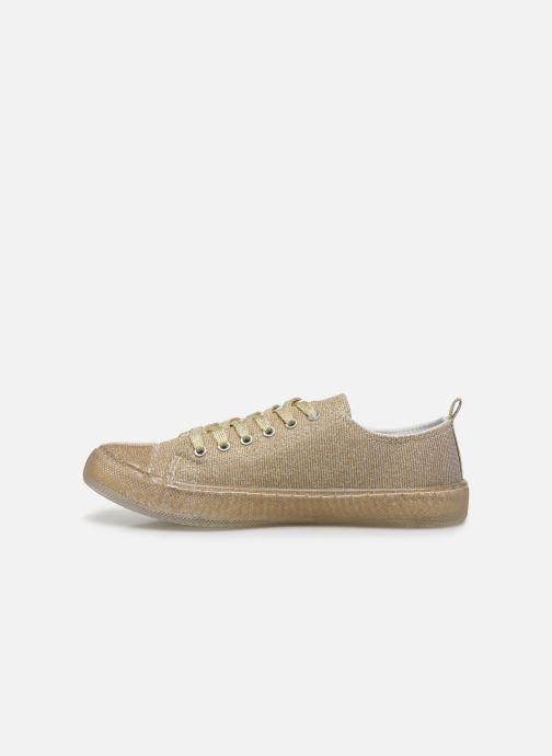 Deportivas I Love Shoes THABITA Oro y bronce vista de frente