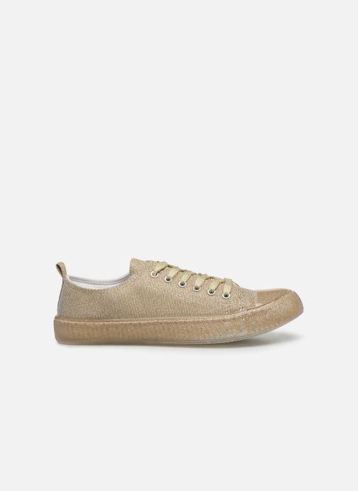 Baskets I Love Shoes THABITA Or et bronze vue derrière