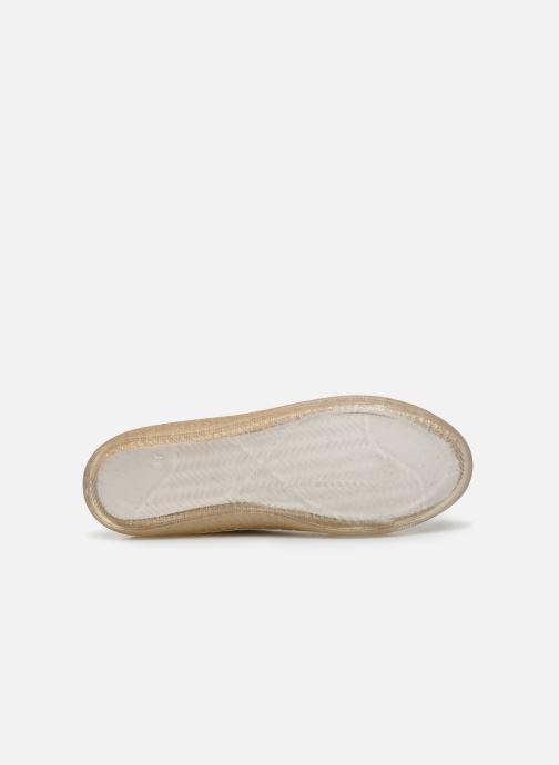 Deportivas I Love Shoes THABITA Oro y bronce vista de arriba