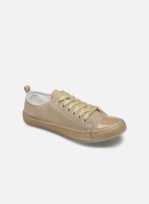 Baskets I Love Shoes THABITA Or et bronze vue détail/paire