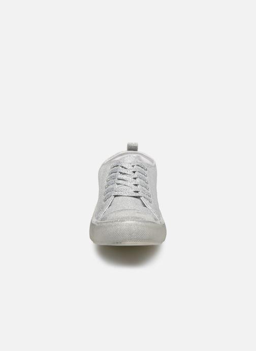 Baskets I Love Shoes THABITA Argent vue portées chaussures