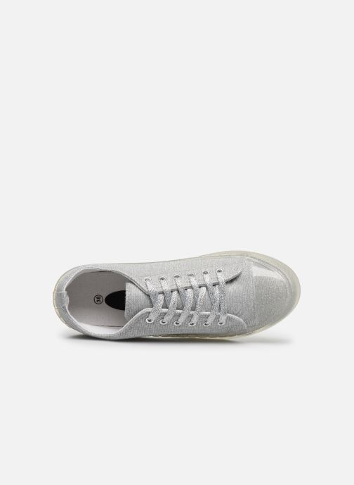 Sneakers I Love Shoes THABITA Argento immagine sinistra