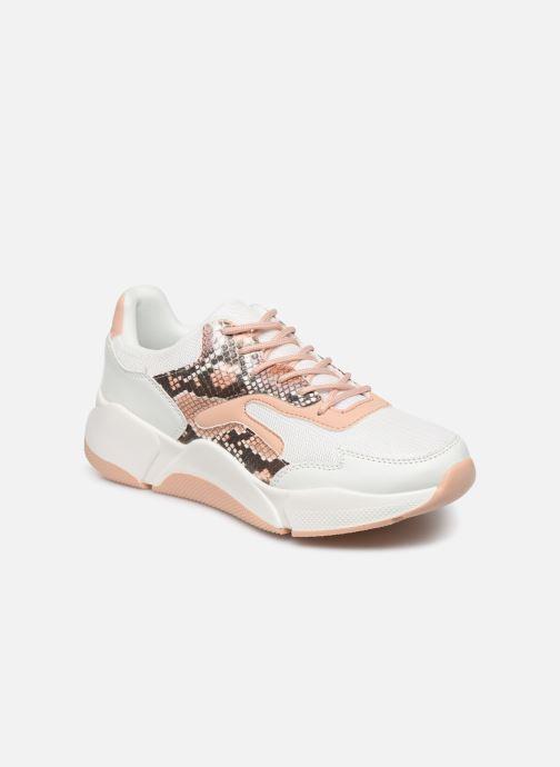 Baskets I Love Shoes THOFFY Blanc vue détail/paire