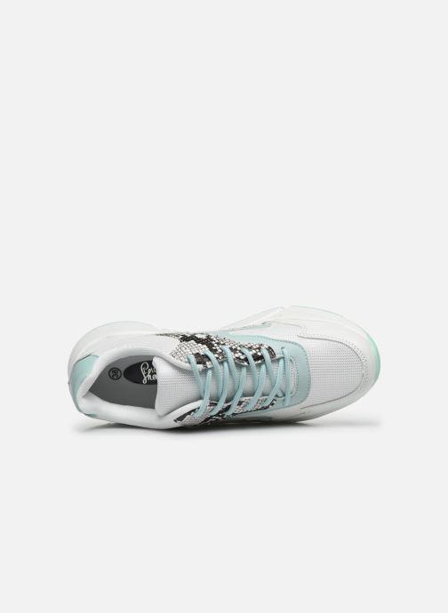 Sneaker I Love Shoes THOFFY weiß ansicht von links
