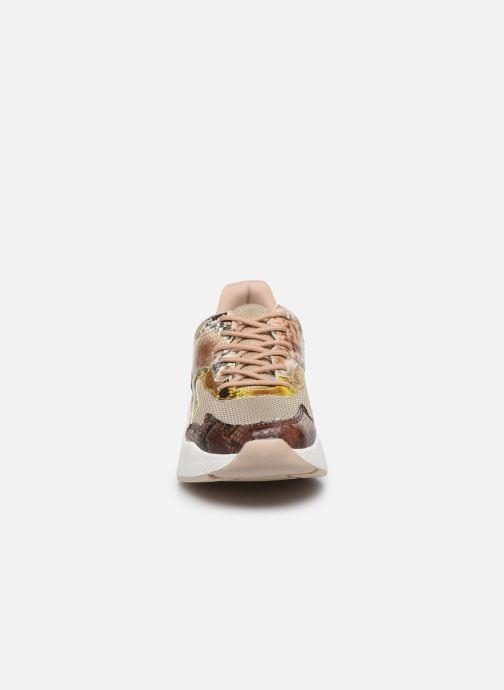 Baskets I Love Shoes THOFFY Marron vue portées chaussures