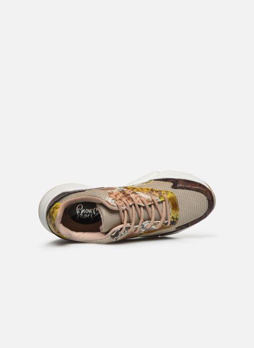 Deportivas I Love Shoes THOFFY Marrón vista lateral izquierda