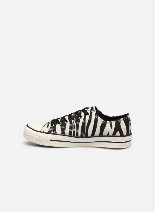 Baskets I Love Shoes THEZEBRA Blanc vue face