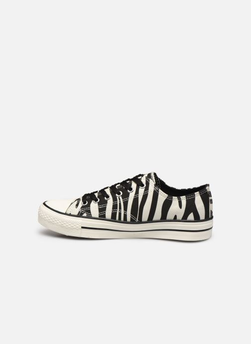 Deportivas I Love Shoes THEZEBRA Blanco vista de frente