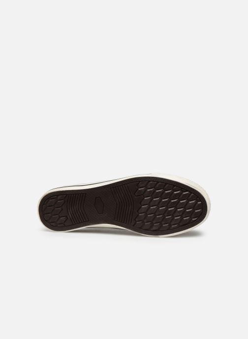 Baskets I Love Shoes THEZEBRA Blanc vue haut