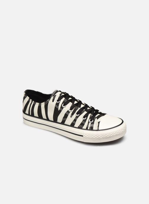 Baskets I Love Shoes THEZEBRA Blanc vue détail/paire