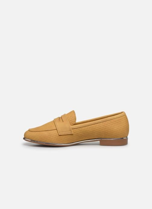 Mocasines I Love Shoes THEVONI Amarillo vista de frente