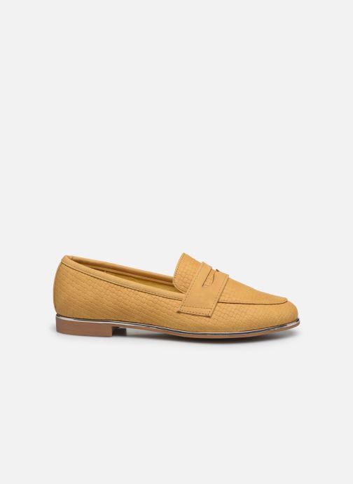 Mocasines I Love Shoes THEVONI Amarillo vistra trasera