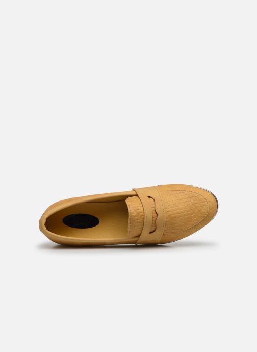 Mocasines I Love Shoes THEVONI Amarillo vista lateral izquierda