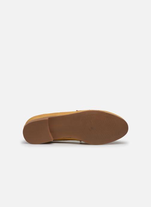 Mocasines I Love Shoes THEVONI Amarillo vista de arriba