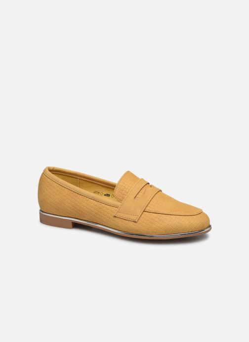 Mocassins I Love Shoes THEVONI Jaune vue détail/paire