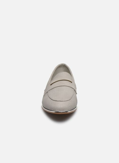 Mocasines I Love Shoes THEVONI Gris vista del modelo