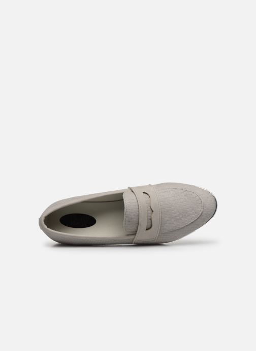 Mocasines I Love Shoes THEVONI Gris vista lateral izquierda