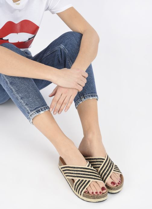 Zoccoli I Love Shoes THOMIA Nero immagine dal basso