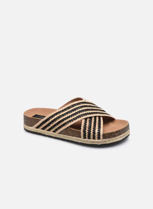 Mules et sabots I Love Shoes THOMIA Noir vue détail/paire