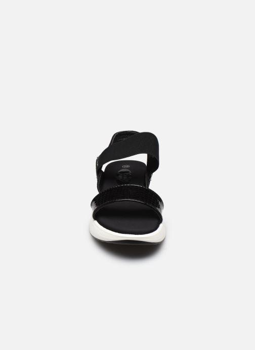 Sandali e scarpe aperte I Love Shoes THUDIA Nero modello indossato
