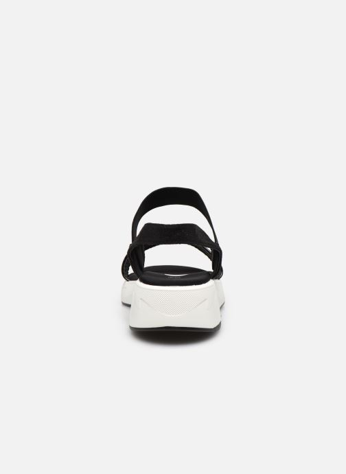 Sandalias I Love Shoes THUDIA Negro vista lateral derecha