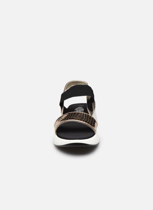 Sandales et nu-pieds I Love Shoes THUDIA Or et bronze vue portées chaussures