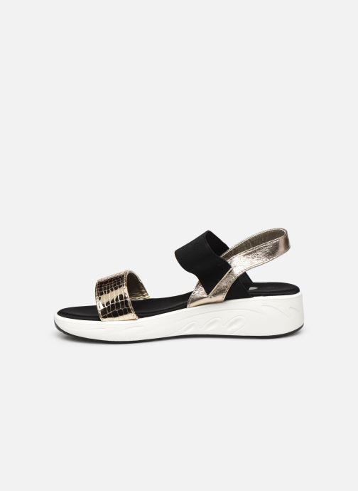 Sandales et nu-pieds I Love Shoes THUDIA Or et bronze vue face