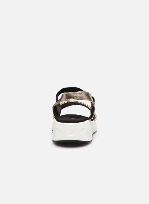 Sandalias I Love Shoes THUDIA Oro y bronce vista lateral derecha