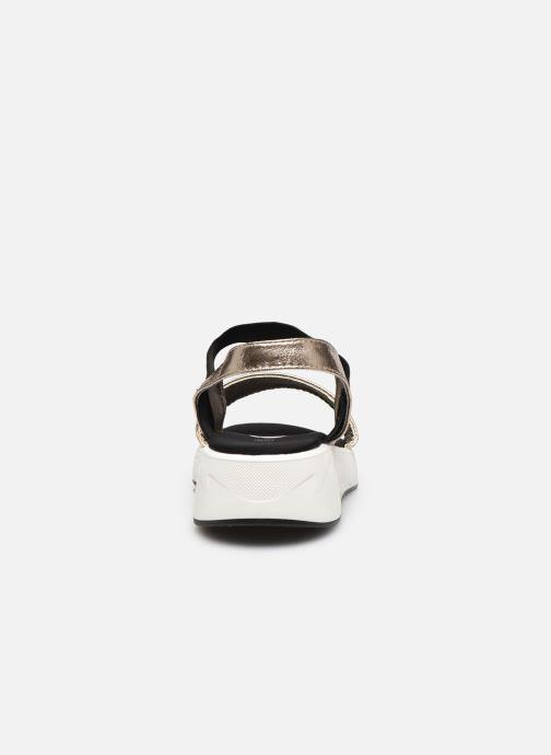 Sandales et nu-pieds I Love Shoes THUDIA Or et bronze vue droite