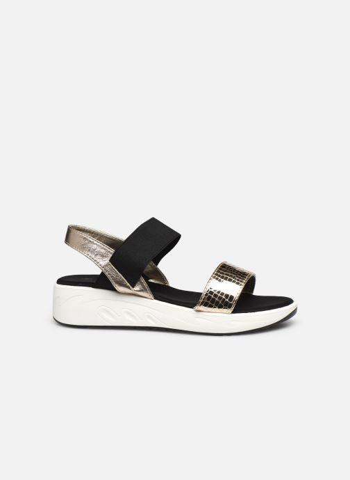 Sandales et nu-pieds I Love Shoes THUDIA Or et bronze vue derrière