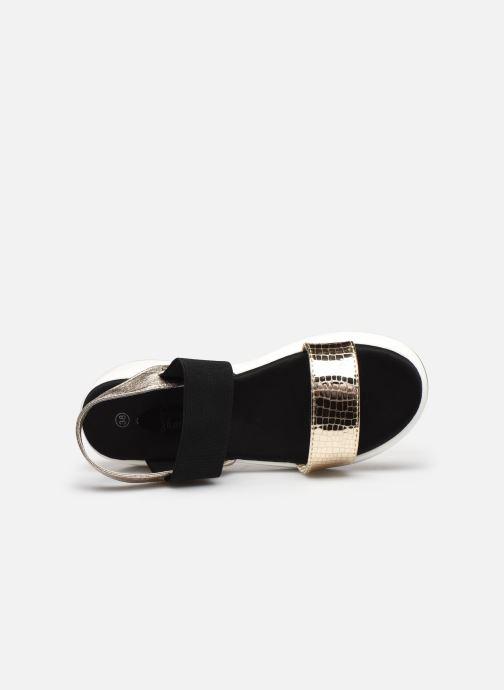 Sandales et nu-pieds I Love Shoes THUDIA Or et bronze vue gauche